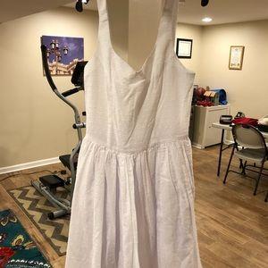 Dresses & Skirts - Custom white Swiss Dot sweetheart dress